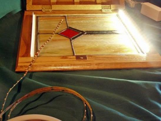 L Channel For Attaching Led Flexible Light Foil To Frames